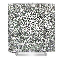 Gauzean Shower Curtain by Bruce Iorio