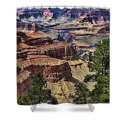 Gc 32 Shower Curtain by Chuck Kuhn