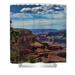 Gc 34 Shower Curtain by Chuck Kuhn