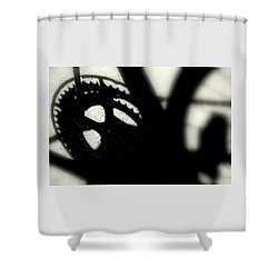 Gear Shower Curtain