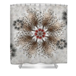 Gear Lace Shower Curtain