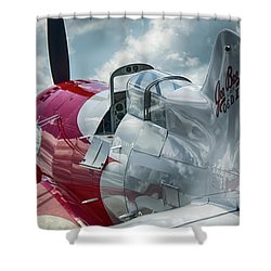 Gee Bee Shower Curtain
