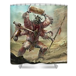 Gegenees Giant Shower Curtain