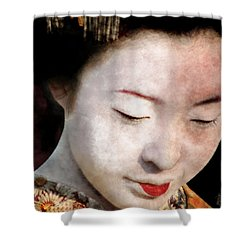 Geisha Girl Shower Curtain