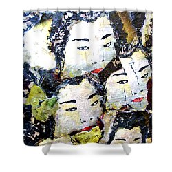 Geisha Girls Shower Curtain
