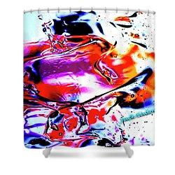 Gel Art #14 Shower Curtain by Jack Eadon
