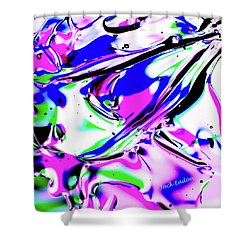 Gel Art#18 Shower Curtain by Jack Eadon