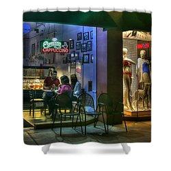 Gelato In La Jolla Shower Curtain