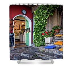 Gelato Shop Shower Curtain