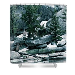 Gem Lake Shower Curtain