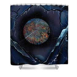 Gem Mountain Shower Curtain