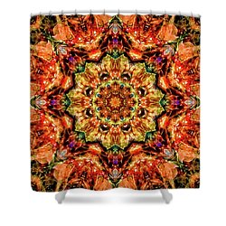 Gem Pattern Shower Curtain