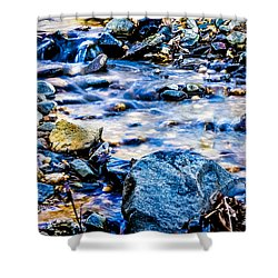 Gem Stones Shower Curtain