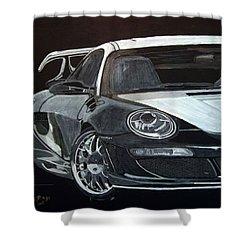 Gemballa Porsche Right Shower Curtain