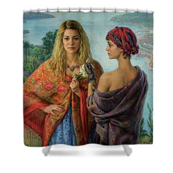 Gemelli Shower Curtain