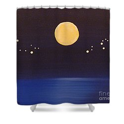 Gemini And Leo Shower Curtain by Alys Caviness-Gober