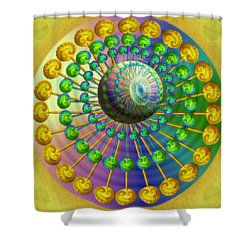 Gene Pool Shower Curtain