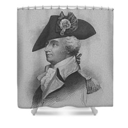 General Anthony Wayne Shower Curtain by War Is Hell Store