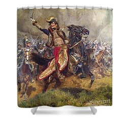 General Antoine-charles-louis Lasalle Shower Curtain by Jean Baptiste Edouard Detaille
