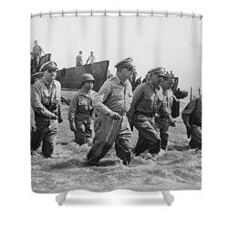 General Douglas Macarthur Returns Shower Curtain by War Is Hell Store