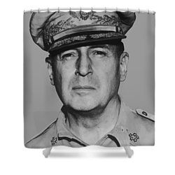 General Douglas Macarthur Shower Curtain by War Is Hell Store