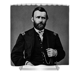 General Grant During The Civil War Shower Curtain by War Is Hell Store