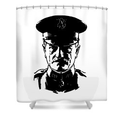General John Pershing Shower Curtain by War Is Hell Store