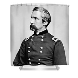 General Joshua Chamberlain  Shower Curtain by War Is Hell Store