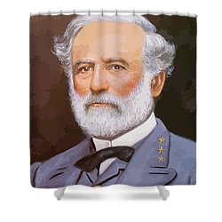 General Lee Shower Curtain by War Is Hell Store
