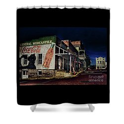 General Mercantile Shower Curtain