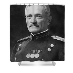 General Pershing Shower Curtain by War Is Hell Store