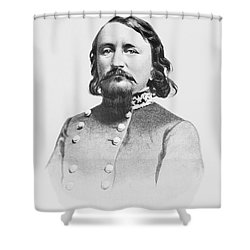 General Pickett - Csa Shower Curtain