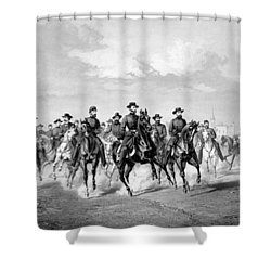 General Sherman At Savannah Shower Curtain by War Is Hell Store