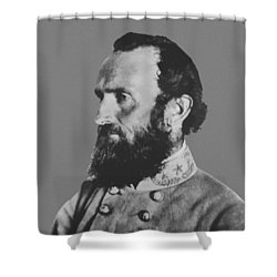 General Stonewall Jackson Shower Curtain