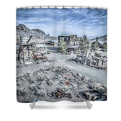 General Store Shower Curtain by Mark Dunton