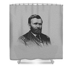 General Ulysses Grant And His Signature Shower Curtain by War Is Hell Store