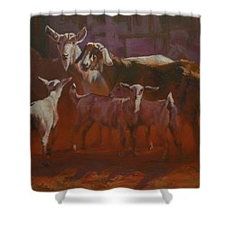 Generations Shower Curtain by Mia DeLode