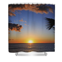 Generic Sunset Shower Curtain by Brandon Tabiolo - Printscapes