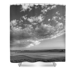 Genesee Country B And W Shower Curtain