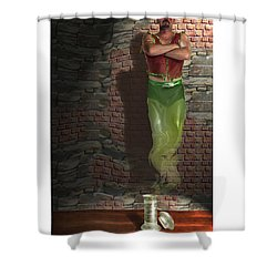 Genie In A Bottle Shower Curtain