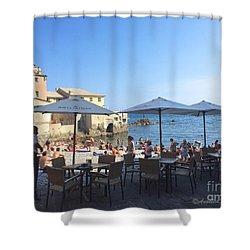 Genova, Boccadasse Shower Curtain