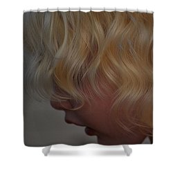 Gentle Beauty Shower Curtain by Laura Leigh McCall