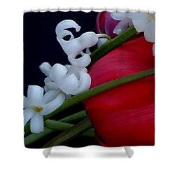 Gentle Breeze Shower Curtain by Lisa Kaiser