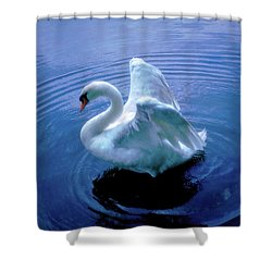 Gentle Strength Shower Curtain