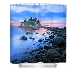 Shower Curtain featuring the photograph Gentle Sunrise by John Poon