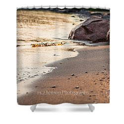 Gentle Waves Shower Curtain