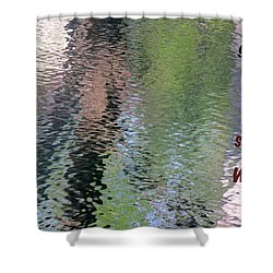 Gentleness Is Victory Shower Curtain