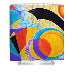 Geo Me Shower Curtain