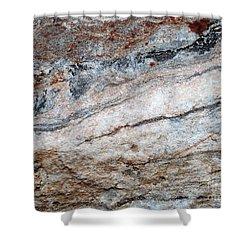 Geoism Shower Curtain