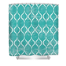 Geometric 3 Shower Curtain